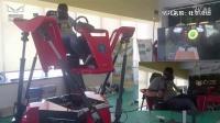 VR赛车模拟器 这就是体验店比家里爽的地方了