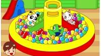巧虎来啦#巧虎和小朋友一起去幼稚园@爱上幼儿园巧虎乐智小天地幼幼版