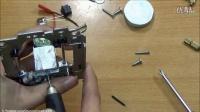 非常实用的微型小台钻,只需简单的几种材料便可做成-趣味DIY