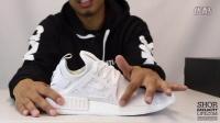 Adidas NMD XR1 PrimeKnit White 实物细节近赏