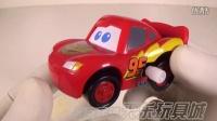 TOMY多美卡迪士尼机器人公仔M-07麦昆卡通发条玩具