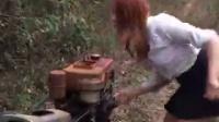📽女白領發動拖拉機🎥