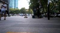 160827SAT 艾尚 吉他弹唱 街头献艺 张帅哥 南京 中山路 (8)