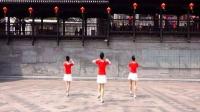 吉美广场舞原创《越爱越精彩》背面1