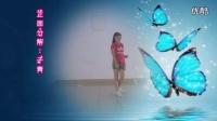子青广场舞《花蝴蝶》对跳 分解