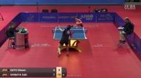 2016国际乒联巡回赛保加利亚公开赛 Hitomi Sato vs Saki Shibata %28R16%29