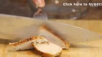 如何制作番茄酱的鸡肉三明治(美食教程)