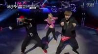 EXO与少女时代飙舞,跳到一半尴尬了!