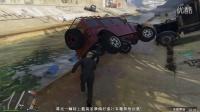 老白解说GTA5:恶搞大货车,鬼畜笑懵逼!