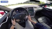特斯拉Tesla Model S P90D Ludicrous 0-250 km-h加速