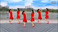 广晋广场舞双人舞《你不来我不老》附原创分解动作_标清