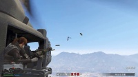 与联通玩GTA5 夺取女武神直升机(联通逗比落水)