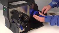 T2N热转式打印机- 安装标签