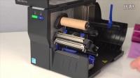 T2N热转式打印机- 安装碳带
