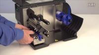 T2N热转式打印机- 更换滚筒纸轴