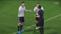 【PS4】PES2017 德国VS巴萨2:1 友谊赛试玩