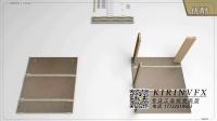 可拆式家具组装动画演示@深圳产品安装动画