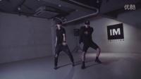 【1M舞室】强势黑泡Junsun+Eunho双人炸场编舞I_Got_The_Keys_舞蹈教程