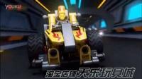 2016新款回力车积木拼装 儿童益智玩具 F1赛车 组装汽车模型跑车