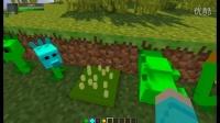 我的世界★Minecraft☆植物大战僵尸模组介绍丨豌豆大战超级僵尸  《时空小涵搞笑游戏实况》