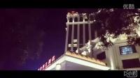 张家口夜晚美丽的红旗楼