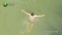 阳春视讯之深山中的天然游泳场游玩实拍纪录片