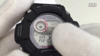 GW-9400 本地城市的设定/夏令时间/12/24小时制/时分秒年月日/按钮操作音/照明持续时间/节电功能/温度计气压计测高计的显示单位
