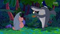 鲨鱼哥与美人鱼-尽职尽责的警察-喜剧-动画-动漫-卡通短片