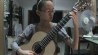 怀化古典吉他 雷吉那尼随想曲26号 欧阳霖11岁