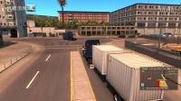 美国卡车模拟-任务 小路 长头 集装箱