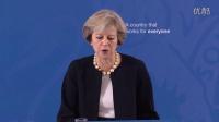 特蕾莎·梅首相在英国国家学术院的演讲