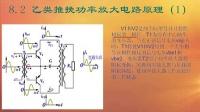 电子电路基础教程 第八讲:功率放大电路原理分析_标清