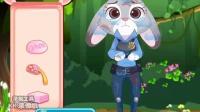 【向日葵】疯狂动物城 朱迪兔疗伤