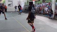 Court Kingz街球团队在委内瑞拉的表演赛