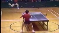 中国乒乓球史上最精彩一回合,神技翻跟头接球!