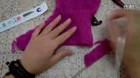 【七针坊】毛线靴花边款教程一(织鞋面)毛线鞋编织方法_标清