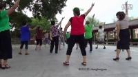 广场舞爱好者学跳我的自编舞 编舞优酷zhanghongaaa 前面那个姑娘