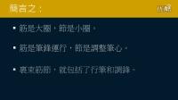 黄简讲书法:三级课程裹束01 什么是裹束?﹝书法教学视频﹞
