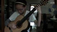 怀化古典吉他 雷吉那尼随想曲28号 欧阳霖11岁