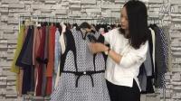《维雪儿》秋装长袖连衣裙 长款外套火热批发中 品牌服装批发走份77期视频