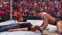 """大胆WWE兰迪奥顿,竟当着HHH的面""""强吻""""他老婆!(2)"""