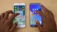 iPhone 7 Plus vs Galaxy Note 7 - 速度对比 评测视频