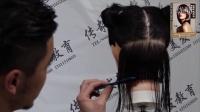 《美发师剪发技术精修课程》随书视频05零度修剪基础讲解1