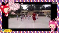 元氏县农村老师业余时间教孩子跳   广场舞 摇摆歌
