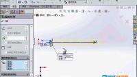 041.solidworks2014视频教程-草图线性阵列工具的应用讲解