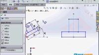 048.solidworks2014视频教程-旋转草图练习及注意事项
