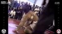 250磅健美选手VS150磅巴西柔术黑带 无手套格斗