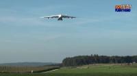 世界最大飞机 安AN-225 降落苏黎世