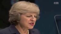 英国首相特雷莎·梅联合国大会演讲(完整版)