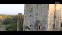 航拍 爱尔兰 布拉尼小镇  布拉尼城堡